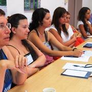 סמינר מתמטי עם סטודנטים מאוניברסיטת קפריסין