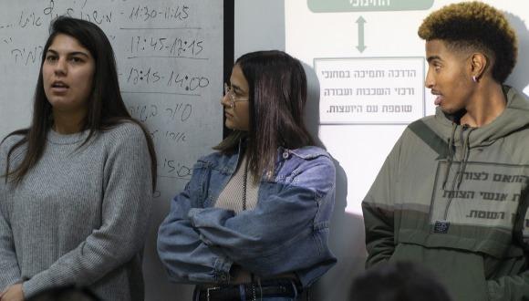 ביקור סגל אוניברסיטת תל אביב בבית ספר דנמרק בירושלים